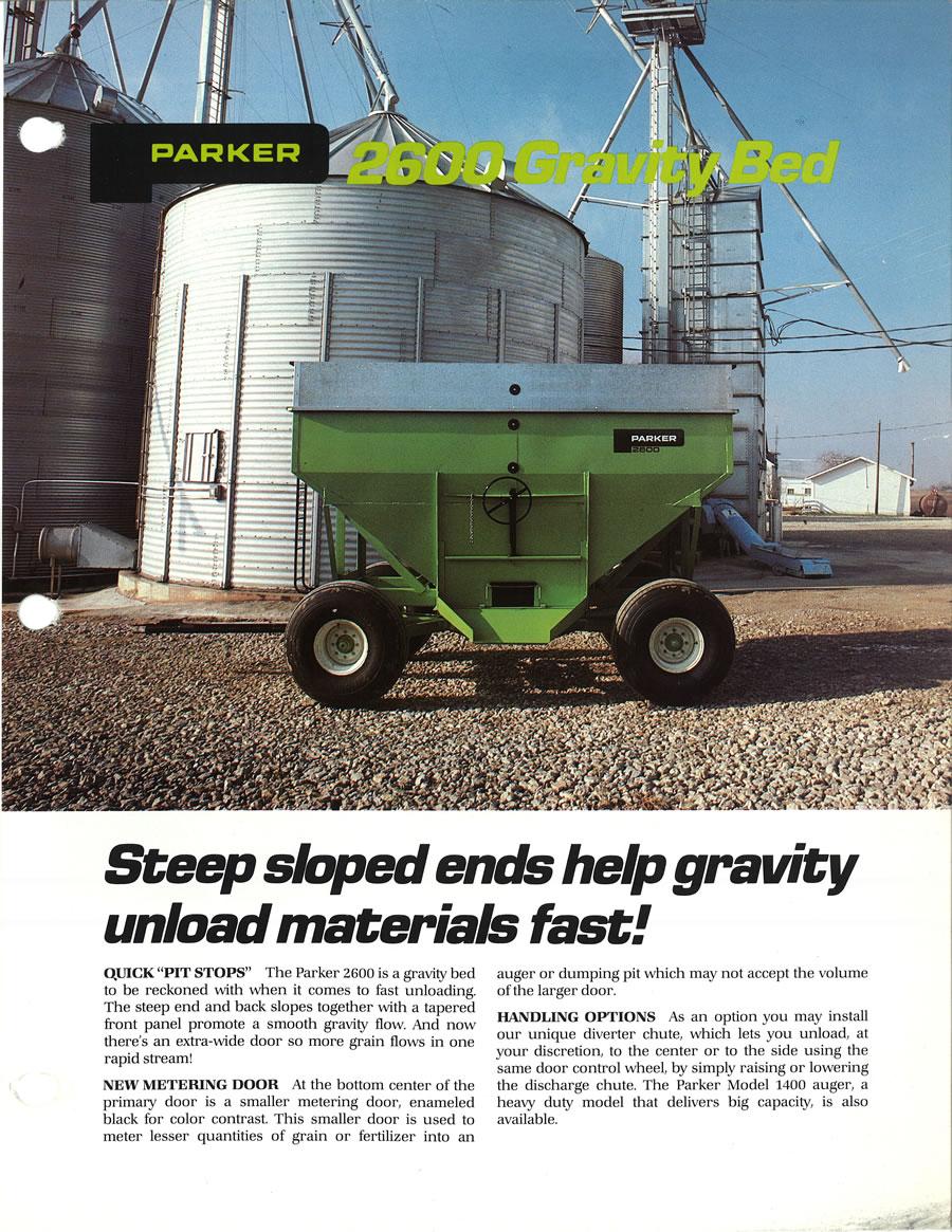 About Us Parker Farm Equipment